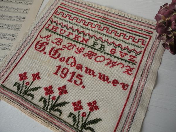 画像1: 刺繍サンプラー