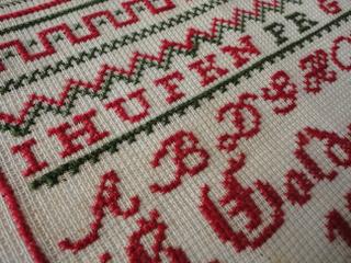 画像4: 刺繍サンプラー