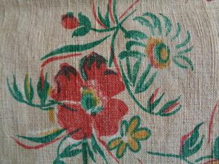 画像3: フレンチ花柄リネンファブリック