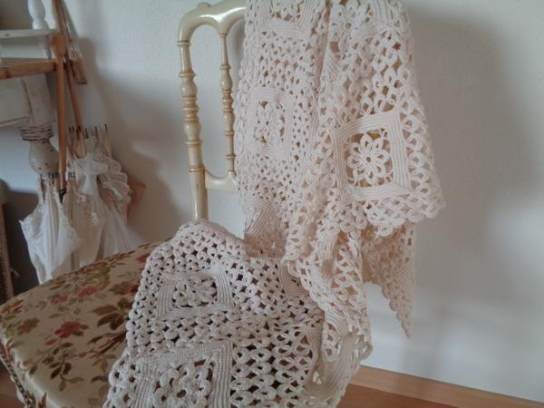 画像1: 手編みマット