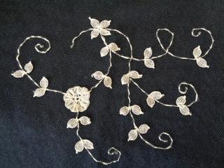 画像2: チュールレーススカーフ