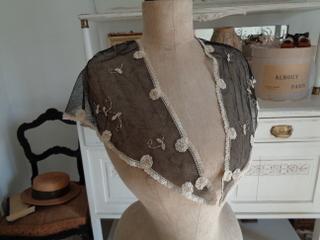 画像4: チュールレーススカーフ