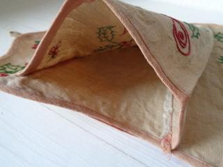 画像5: ヒイラギ柄刺繍ニュースペーパーホルダー