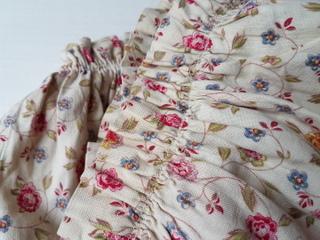 画像5: フレンチ花柄カーテン