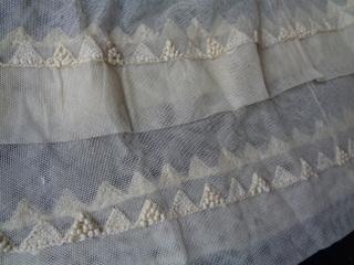 画像4: チュールレースベビードレス