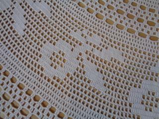 画像2: 手編みレーステーブルクロス