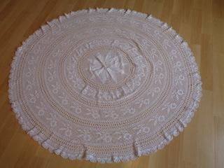 画像4: 手編みレーステーブルクロス