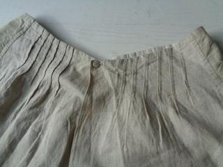 画像4: リネンスカート