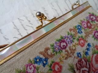 画像5: プチポワン花かご柄バッグ