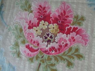 画像2: フレンチ花柄ファブリック