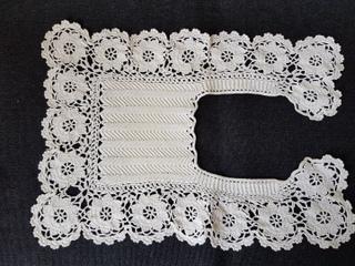 画像3: クロッシェ編み付け襟