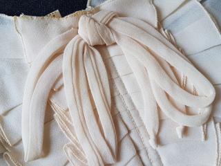 画像2: シフォン素材付け襟
