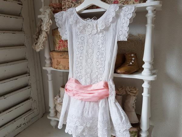 画像1: 大きなリボンのチャイルドドレス