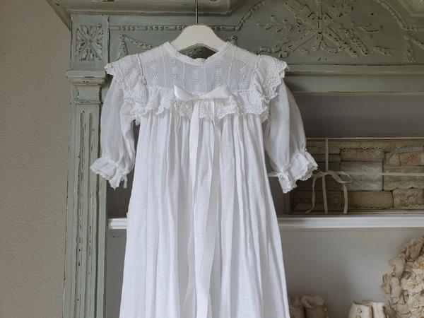 画像1: 洗礼式用ベビー'ドレス