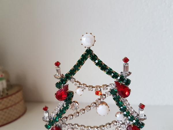 画像2: チェコガラスクリスマスツリー
