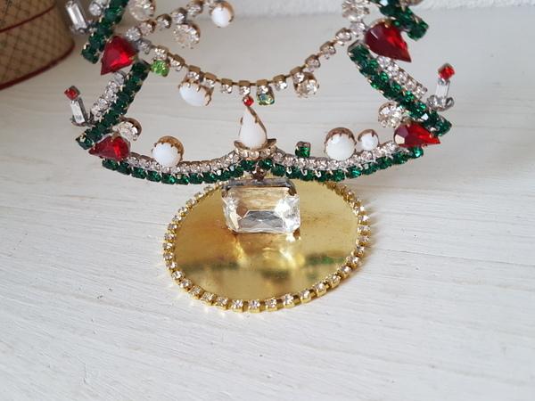 画像4: チェコガラスクリスマスツリー