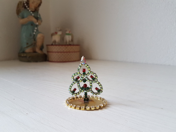 画像1: チェコガラスクリスマスツリー