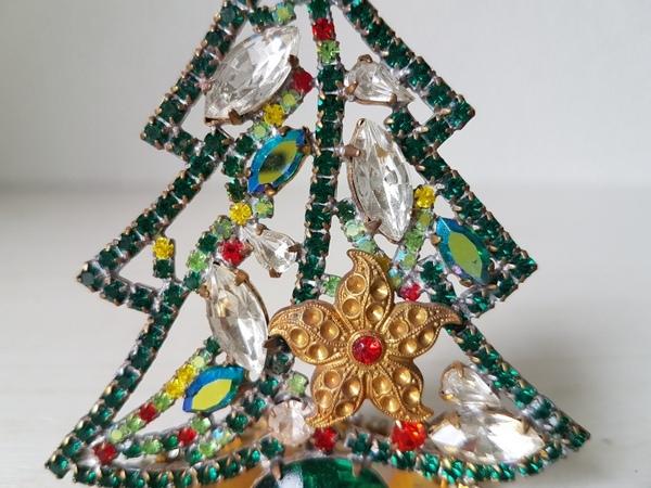 画像3: チェコガラスクリスマスツリー